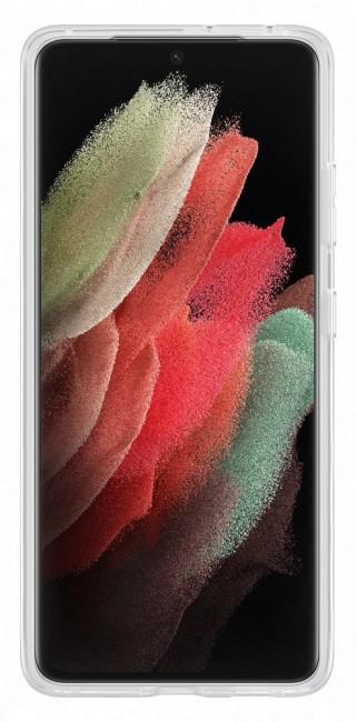 Samsung Clear Standing Cover do Galaxy S21 Ultra transparent - zdjęcie główne
