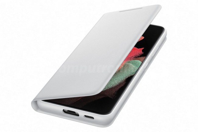 Samsung Smart LED View Cover do Galaxy S21 Ultra light gray - zdjęcie główne