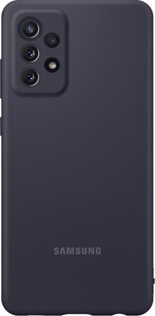Samsung Silicone Cover do Galaxy A72 black - zdjęcie główne