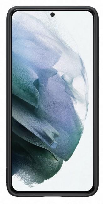 Samsung Silicone Cover do Galaxy S21+ black - zdjęcie główne