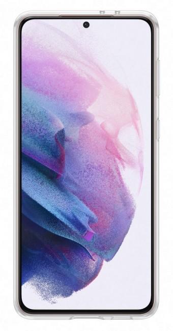 Samsung Clear Cover do Galaxy S21+ transparent - zdjęcie główne
