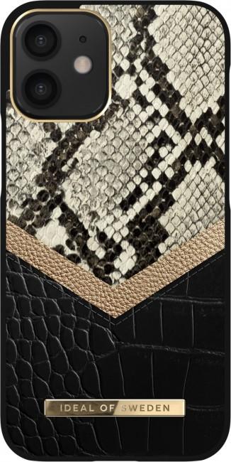 iDeal of Sweden Atelier - etui ochronne do iPhone 12 mini midnight python - zdjęcie główne