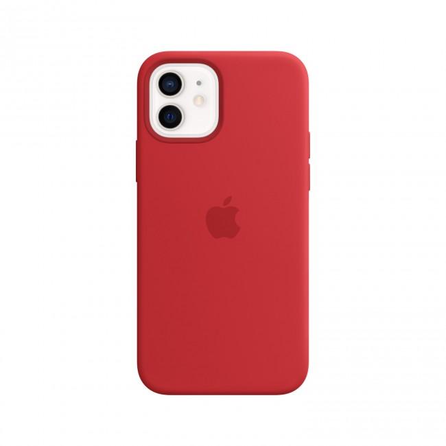 Apple iPhone 12 mini Silicone Case with MagSafe (PRODUCT)RED - zdjęcie główne