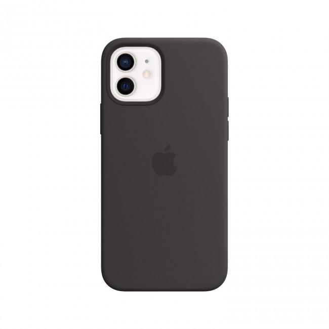 Apple iPhone 12 | 12 Pro Silicone Case with MagSafe black - zdjęcie główne