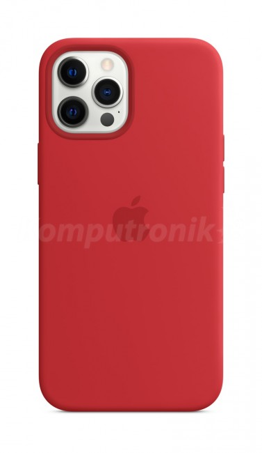 Apple iPhone 12 Pro Max Silicone Case with MagSafe (PRODUCT)RED - zdjęcie główne