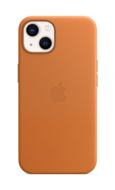 Apple iPhone 13 Leather Case with MagSafe - golden brown - zdjęcie główne
