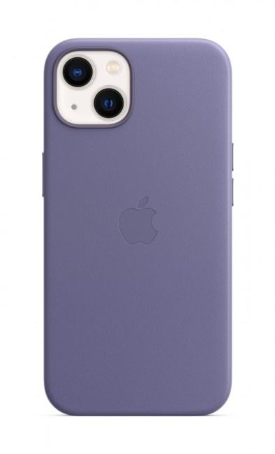 Apple iPhone 13 Leather Case with MagSafe - wisteria - zdjęcie główne