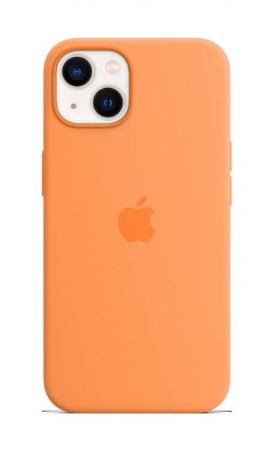 Apple iPhone 13 Silicone Case with MagSafe – marigold - zdjęcie główne