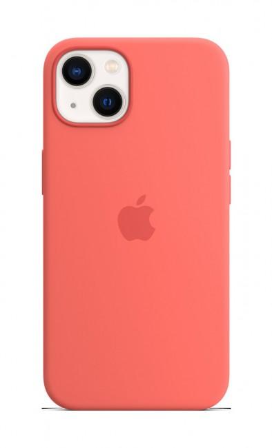 Apple iPhone 13 Silicone Case with MagSafe – pink pomelo - zdjęcie główne