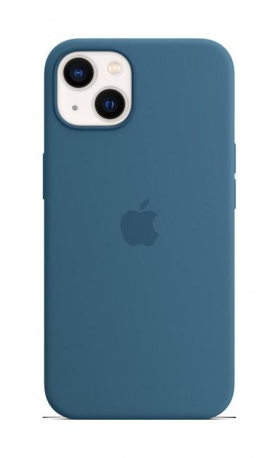 Apple iPhone 13 Silicone Case with MagSafe – blue jay - zdjęcie główne