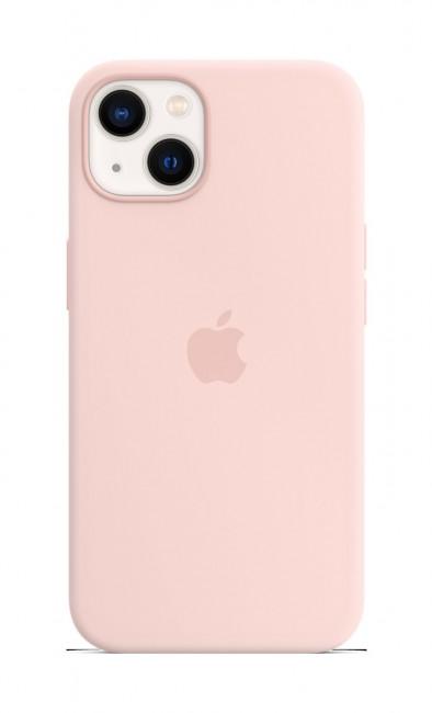 Apple iPhone 13 Silicone Case with MagSafe – chalk pink - zdjęcie główne