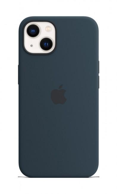 Apple iPhone 13 Silicone Case with MagSafe – abyss blue - zdjęcie główne