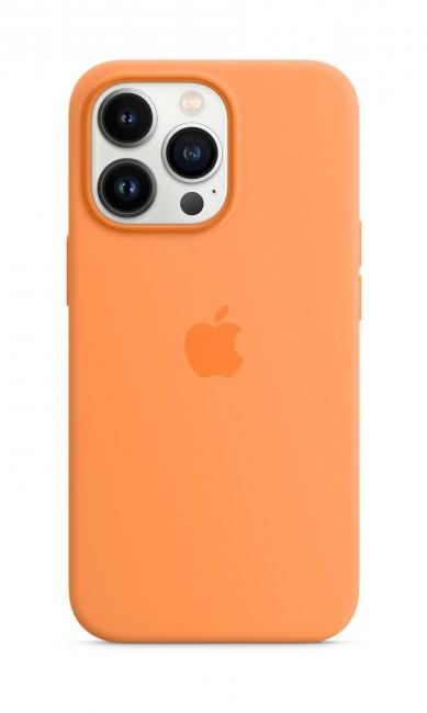 Apple iPhone 13 Pro Silicone Case with MagSafe – marigold - zdjęcie główne