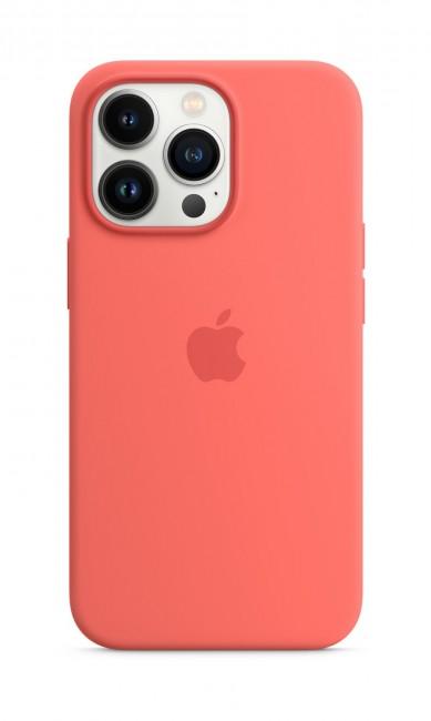 Apple iPhone 13 Pro Silicone Case with MagSafe – pink pomelo - zdjęcie główne