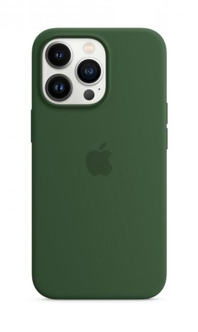 Apple iPhone 13 Pro Silicone Case with MagSafe – clover - zdjęcie główne