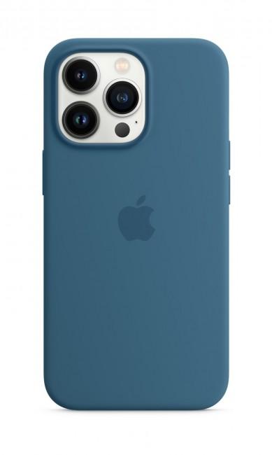Apple iPhone 13 Pro Silicone Case with MagSafe – blue jay - zdjęcie główne