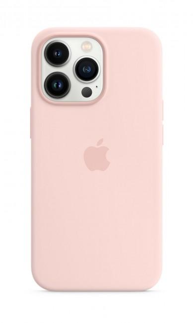 Apple iPhone 13 Pro Silicone Case with MagSafe – chalk pink - zdjęcie główne