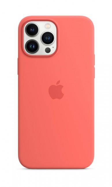 Apple iPhone 13 Pro Max Silicone Case with MagSafe – pink pomelo - zdjęcie główne