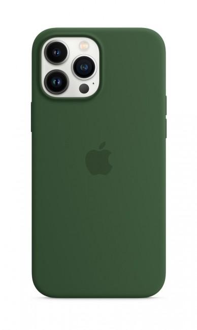Apple iPhone 13 Pro Max Silicone Case with MagSafe – clover - zdjęcie główne