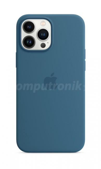 Apple iPhone 13 Pro Max Silicone Case with MagSafe – blue jay - zdjęcie główne