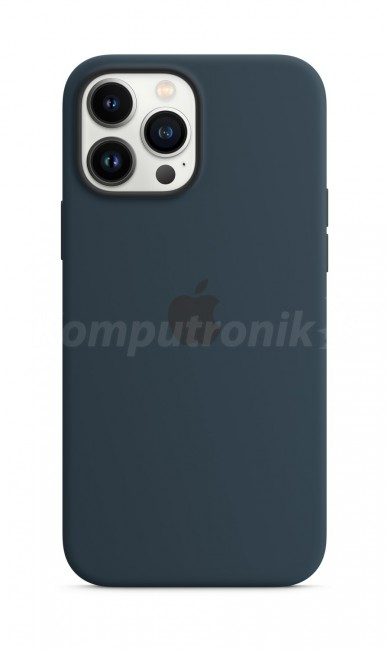 Apple iPhone 13 Pro Max Silicone Case with MagSafe – abyss blue - zdjęcie główne