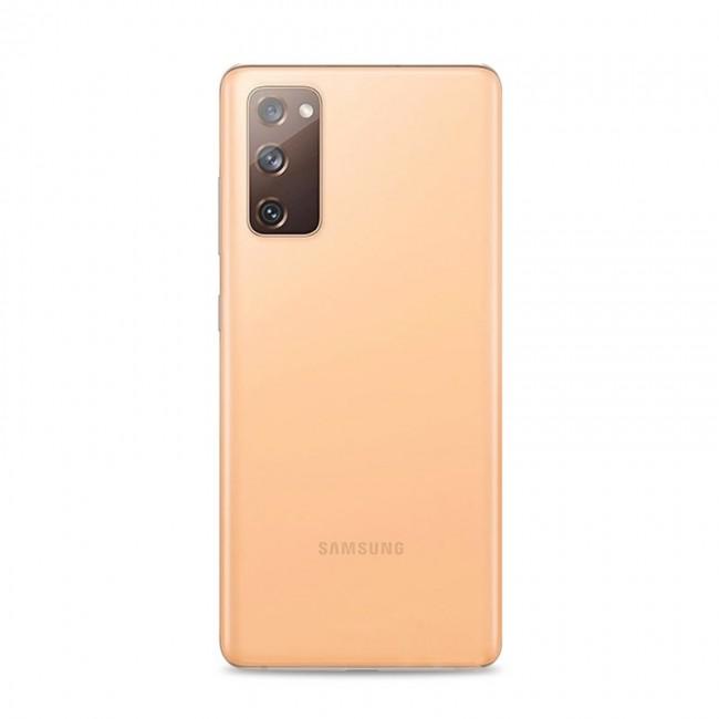 Puro 0.3 Nude Samsung Galaxy S20 FE TPU Cover - Gennemsigtig