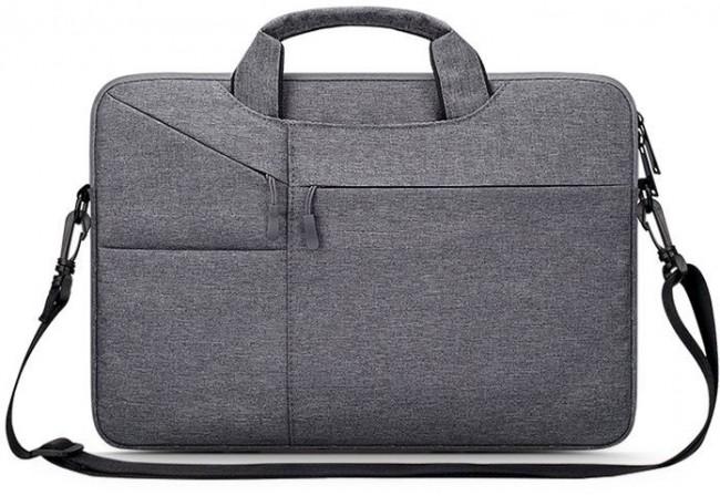 """Tech-Protect Pocketbag 14"""" dark grey - zdjęcie główne"""
