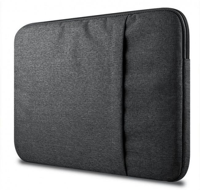 """Tech-Protect Sleeve 15-16"""" dark grey - zdjęcie główne"""