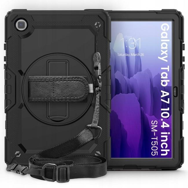 Tech-Protect Solid360 Galaxy TAB A7 10.4 T500/T505 black - zdjęcie główne