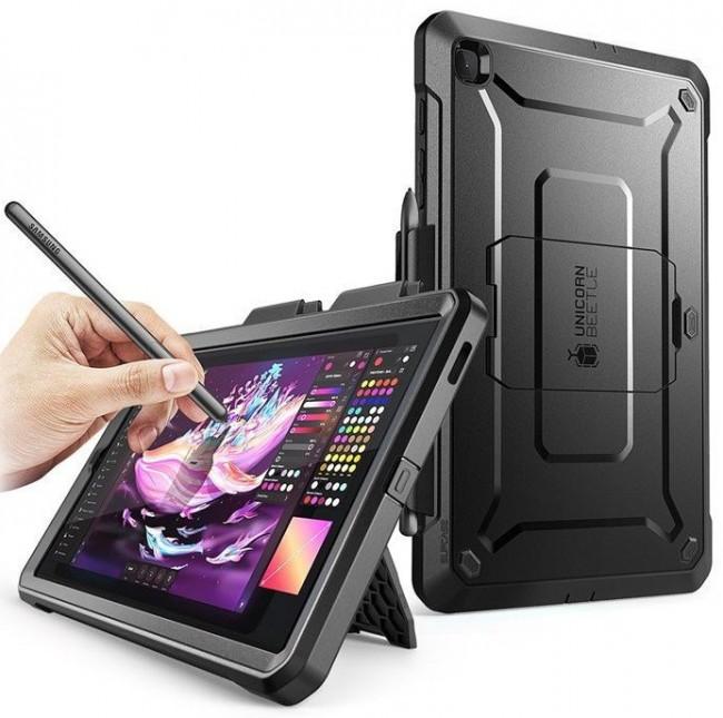 Supcase Unicorn Beetle Pro Galaxy TAB S6 Lite 10.4 P610/P615 black - zdjęcie główne
