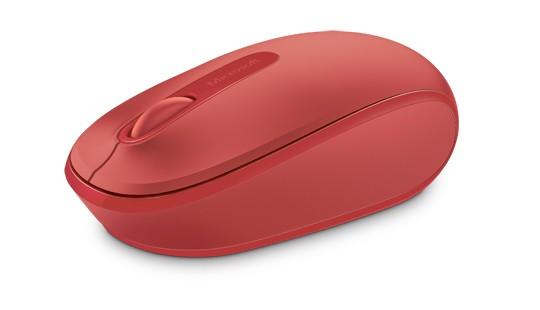 Microsoft Mobile Mouse 1850 USB Flame Red + Gra PC DIRT 5 - zdjęcie główne