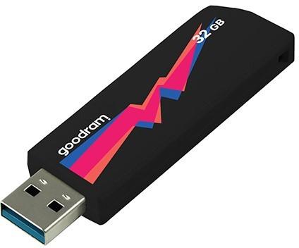 GOODRAM 32GB UCL3 czarny [USB 3.0] - zdjęcie główne