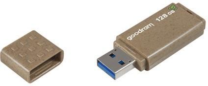 GOODRAM 128GB UME 3 ECO FRIENDLY brązowy [USB 3.0] - zdjęcie główne
