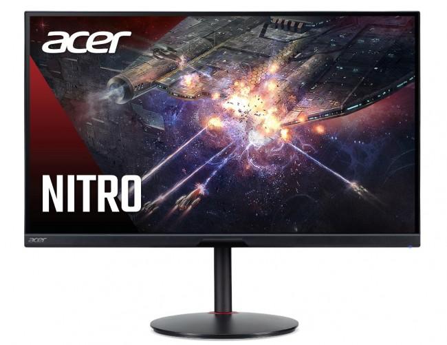 Acer Nitro XV282KKVbmiipruzx [1ms, HDMI 2.1, 144Hz, USB-C PD65W, HDR400, FreeSync Premium] - zdjęcie główne