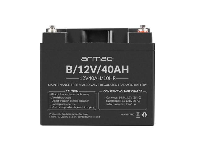 Armac Bateria do UPS 12V/40Ah - zdjęcie główne
