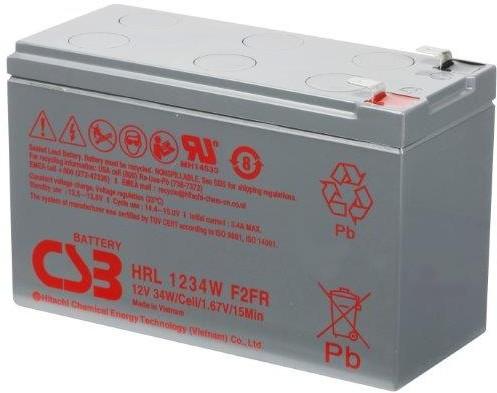 Akumulator CSB HRL 1234WF2 12V/9Ah - zdjęcie główne