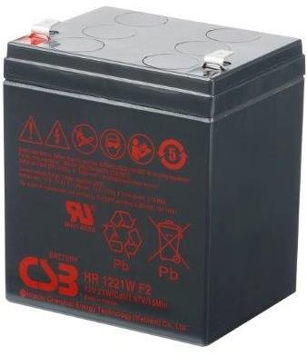Akumulator CSB HR1221WF@ 12V/5.1Ah - zdjęcie główne