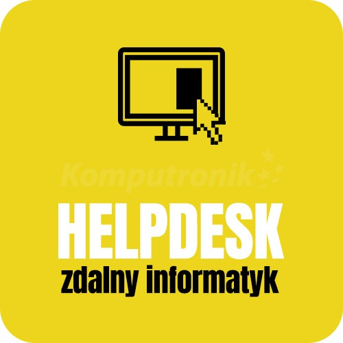 HELPDESK Zdalny Informatyk-5 interwencji / 1 rok - zdjęcie główne
