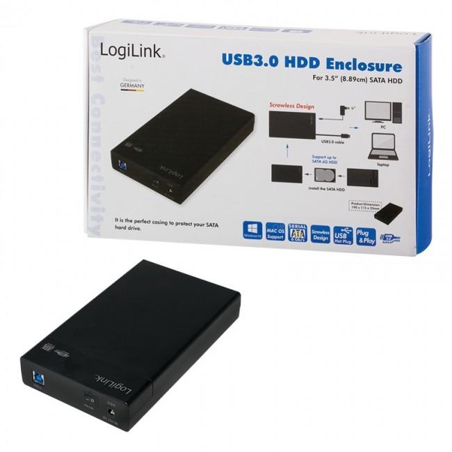 LogiLink UA0276 czarna - zdjęcie główne