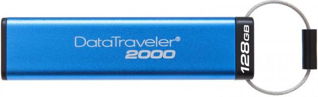 Kingston DataTraveler 2000 128GB USB 3.1 AES Encrypted - zdjęcie główne