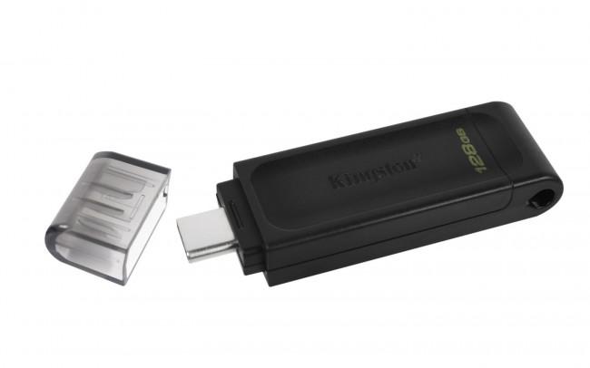 Kingston DataTraveler 70 128GB USB 3.2 Gen 1 Type-C - zdjęcie główne