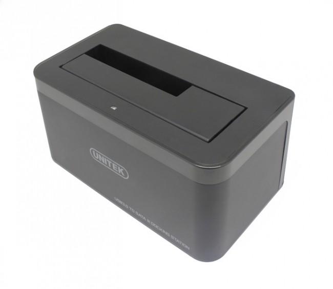 Unitek HDD/SSD czarna - zdjęcie główne