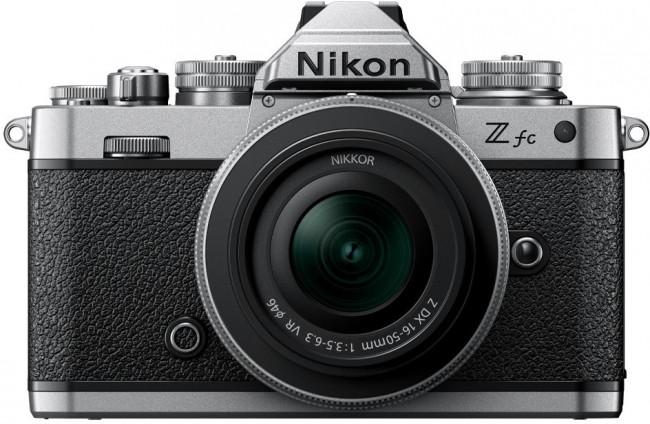 Nikon Z fc + NIKKOR Z DX 16-50 f/3.5-6.3 VR Srebrny - zdjęcie główne