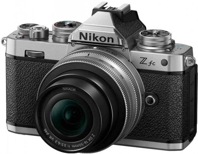 Nikon Z fc + NIKKOR Z DX 16-50 f/3.5-6.3 VR Srebrny + NIKKOR Z DX 50-250mm f/4.5-6.3 VR Czarny - zdjęcie główne
