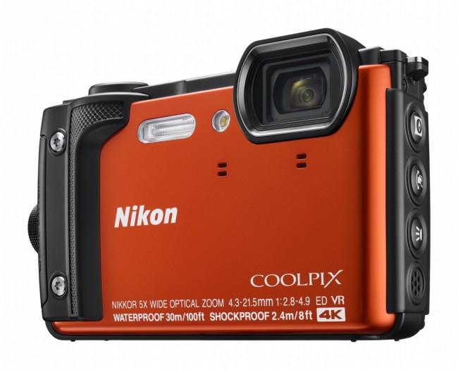 Nikon COOLPIX W300 Pomarańczowy zestaw Holiday - zdjęcie główne
