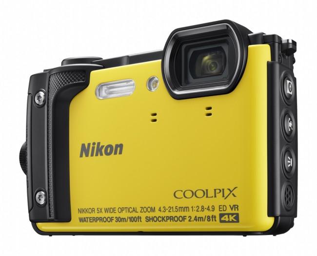 Nikon COOLPIX W300 Żółty - zdjęcie główne