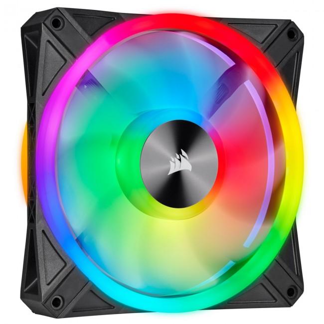 Corsair QL120 RGB 120mm Single Fan Kit RGB CO-9050097-WW - zdjęcie główne