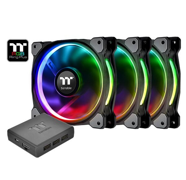Thermaltake Riing 14 RGB Plus TT Premium 3 Pack - zdjęcie główne