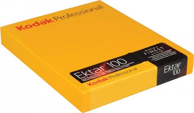 """KODAK EKTAR 100 PROF. 4X5"""" 10 SHEETS - zdjęcie główne"""