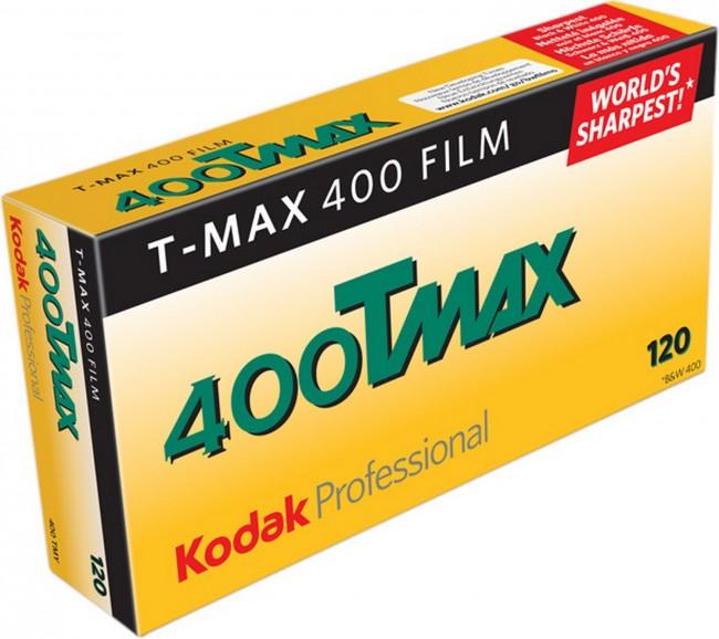 KODAK B&W TMY T-MAX 400 - 120X5 - zdjęcie główne